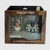 Dale Earnhardt Sr. Vintage Sports Plaques with Clock