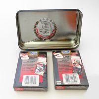Dale Earnhardt Sr. Collectible Tin with Playing Cards