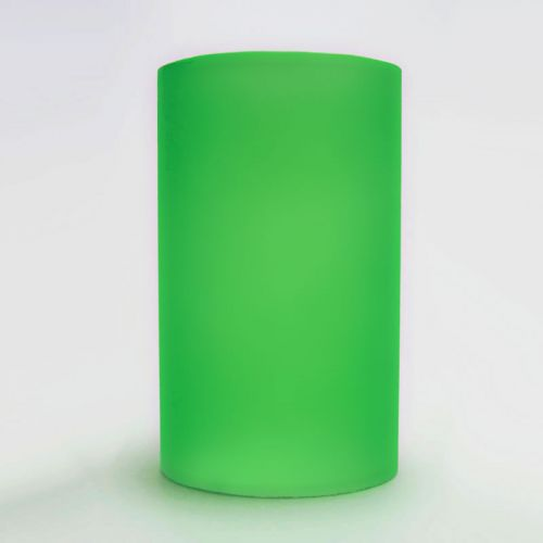 Green Cylinder Lighting Tube for Electric Oil Warmers