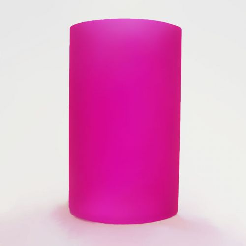 Hot Pink Cylinder Lighting Tube for Electric Oil Warmers