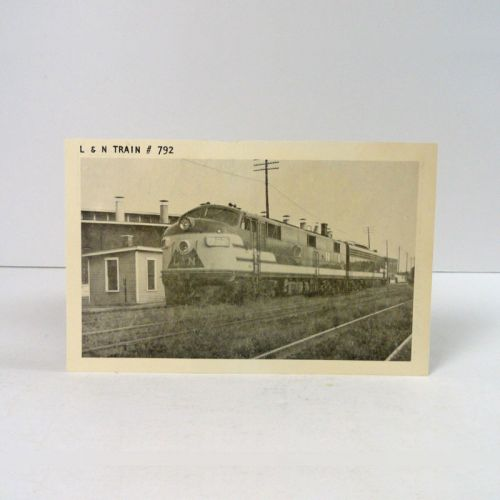 L & N Railroad Train No. 792 Vintage Photo Postcard