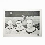Jerry's Restaurant Manned Flight Series No 6 Placemat