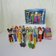 Pez Dispensers Mixed Lot: Star Wars, Batman, Candy, More