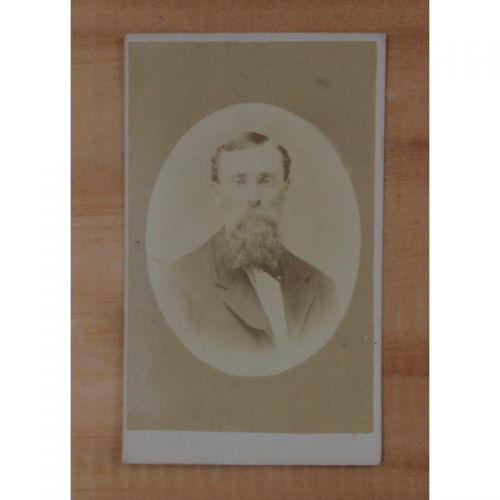 Antique CDV Carte De Visite P.L. Fairfield to E L Entrikin