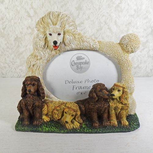 Poodle Dog Photo Frame Holds One 6x4 Picture