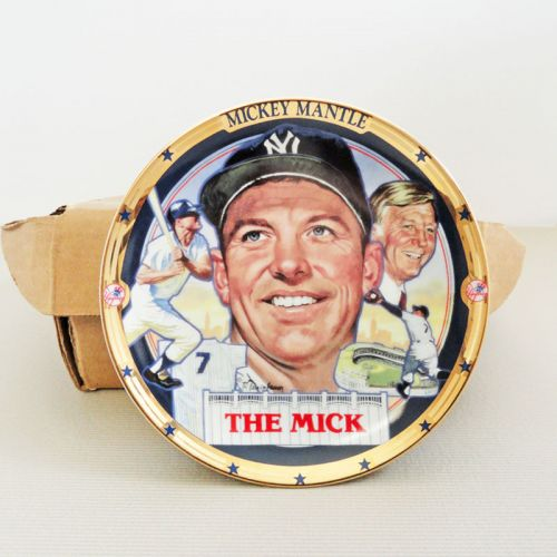 Mickey Mantle The Mick Hamilton Collection Plate