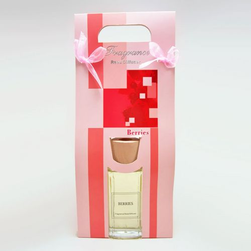Reed Diffuser Gift Bag with Reeds - Berries Oil