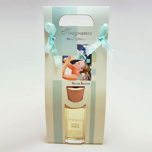 Ocean Breeze Reed Diffuser Gift Bag with Oil and Reeds