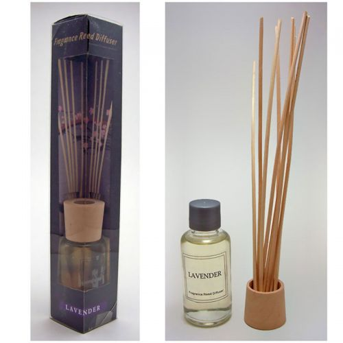Lavender Reed Diffuser Box Set includes Reeds and Oil