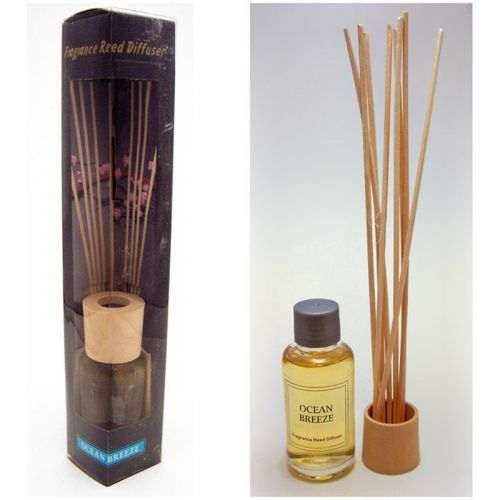 Ocean Breeze Reed Diffuser Box Set includes Reeds and Oil