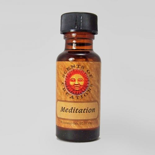 Meditation Scented Fragrance Oil - 0.5 Fluid Ounce