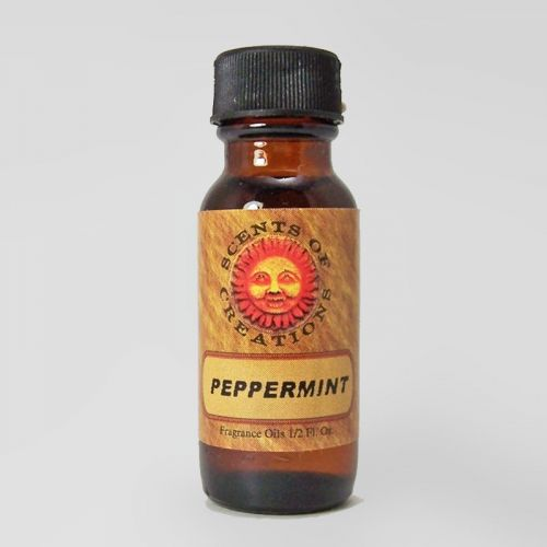 Peppermint Scented Fragrance Oil - 0.5 Fluid Ounce