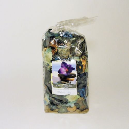 Ocean Flowers Scented Botanical Potpourri in a Bag