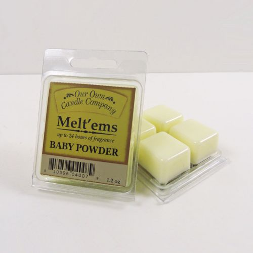 Baby Powder Scented Tarts Wax Melts Four Pc. Pack