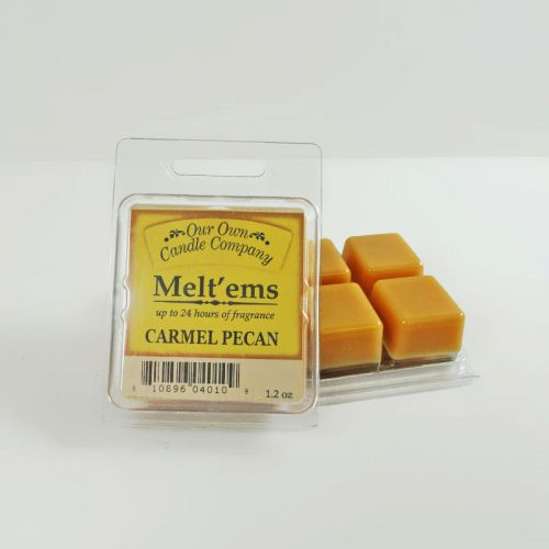 Carmel Pecan Scented Tarts Wax Melts Four Pc. Pack