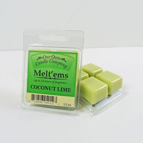 Coconut Lime Scented Tarts Four Pack Wax Melts