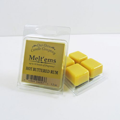 Hot Buttered Rum Scented Tarts Wax Melts Four Pc. Pack