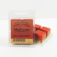 Mulled Cider Scented Tarts Wax Melts Four Pc. Pack