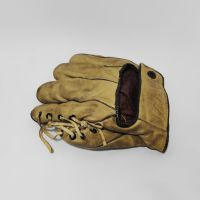 O-K Mfg Left Handed Vintage Leather Softball Glove