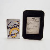 Zippo Lighter St. Louis Rams Collectible NFL Retired Design