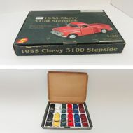 Sunnyside 1955 Chevy 3100 Stepside Trucks in Box Set of 12